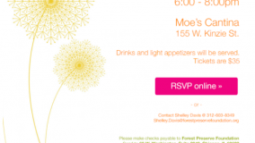 forest preserve foundation spring social